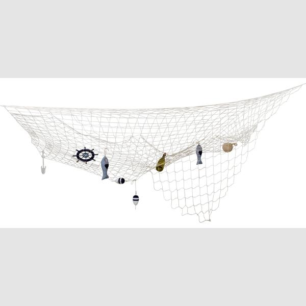 Deko fischernetz ca 400 x 200 cm reymann versand for Deko versand