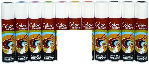 Color-Haar-Spray 75 ml, weiß