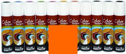 Color-Haar-Spray 75 ml, leuchtorange