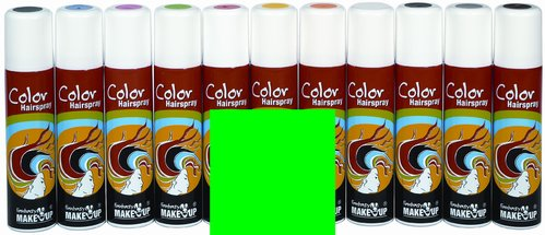 Color-Haar-Spray 75 ml, leuchtgrün