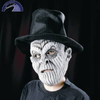 Monstermaske grau mit Hut