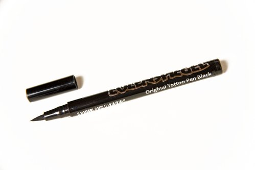 Tattoo-Stift schwarz, 0,8 ml